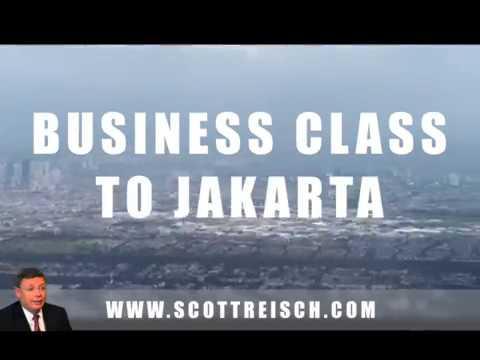 Vlog 5:  Business Class to Jakarta