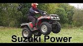 ts' suzuki quadmaster 500 offroad and drifting - youtube