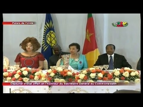 UNITY PALACE - (STATE LUNCH OFFERED in HONOR of COMMONWEALTH SECRETARY-GENERAL) - 19th December 2017
