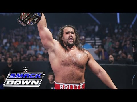 Kalisto vs. Rusev - United States Championship Match: SmackDown, May 26, 2016