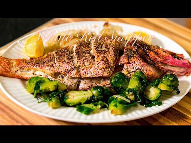 red grilled snapper network food whole recipes