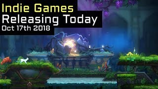 Top 6 New Indie Games Releasing Today - October 17th 2018