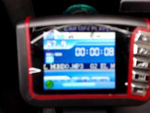 "1.7"" LCD Car MP3/MP4 Player FM Transmitter - DX DealExtreme"