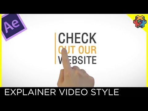 Explainer Video Style - After Effects Tutorial