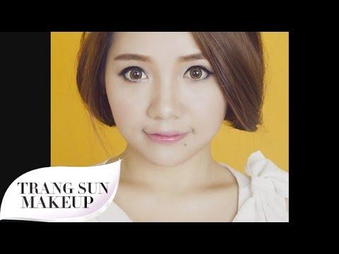 [TRANG SUN MAKEUP] BabyDoll make up- Hướng Dẫn Trang Điểm Xinh Như Búp Bê
