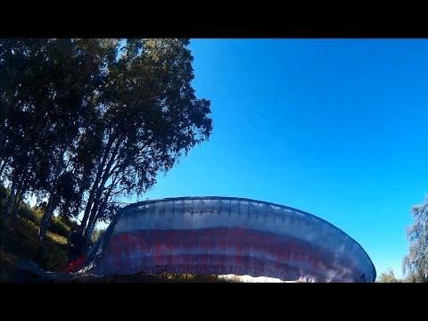 Полная версия улет на параплане с 30 метровой горки г.Рыбинск