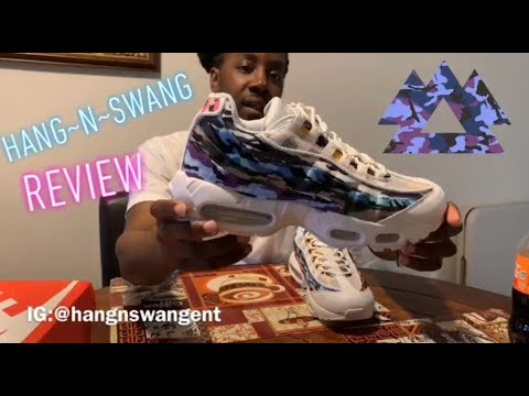 Barricada documental fondo  DHgate* Nike Air Max 95 Mix CAMO (Hang-N-Swang REVIEW) +On Foot - YouTube