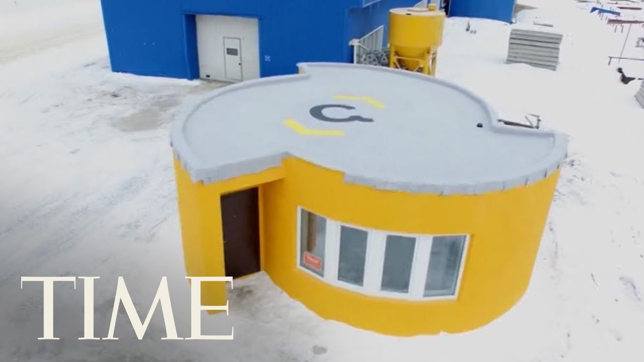 How it s now possible to 3d print a house in one day for 3d printed model house