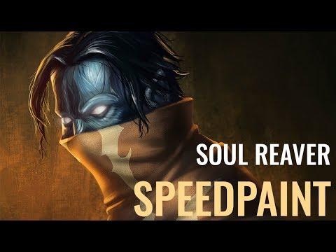 Soul Reaver Fan art - Speedpaint