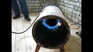 Самодельная тепловая газовая пушка из старого АГВ