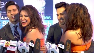 Parineeti Chopra's Wild KISS To Varun Dhawan In Public