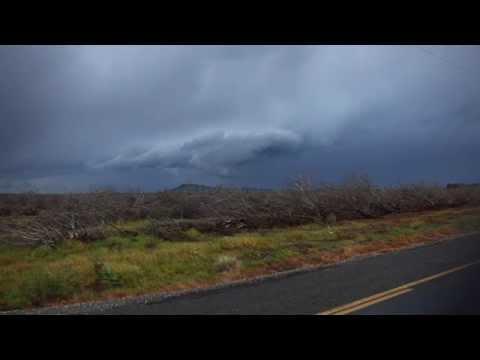Glenn County, CA Wall Cloud Timelapse