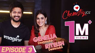 Riteish Deshmukh & Genelia D'Souza on love story, proposal & parenting Riaan, Rahyl | Chemistry 101