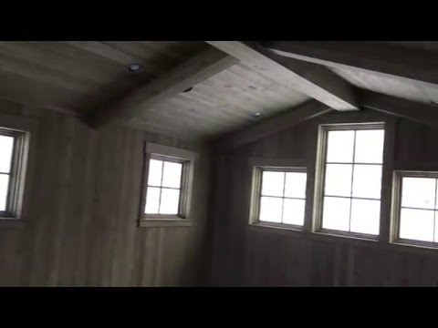 Reveal: Alder Ceiling and Walls + Reclamation