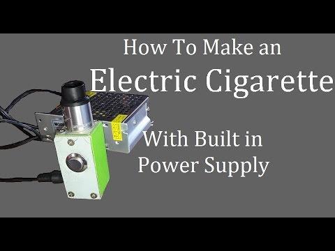 Diy E cigarette Built in Power Supply