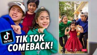 How We Make Our TikTok Videos (TikTok Comeback) | Ranz and Niana