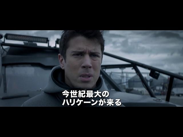 巨大ハリケーン×強盗事件!『ワイルド・ストーム』予告編