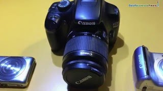 How to recover lost photo and video files from Canon DSLR Camera