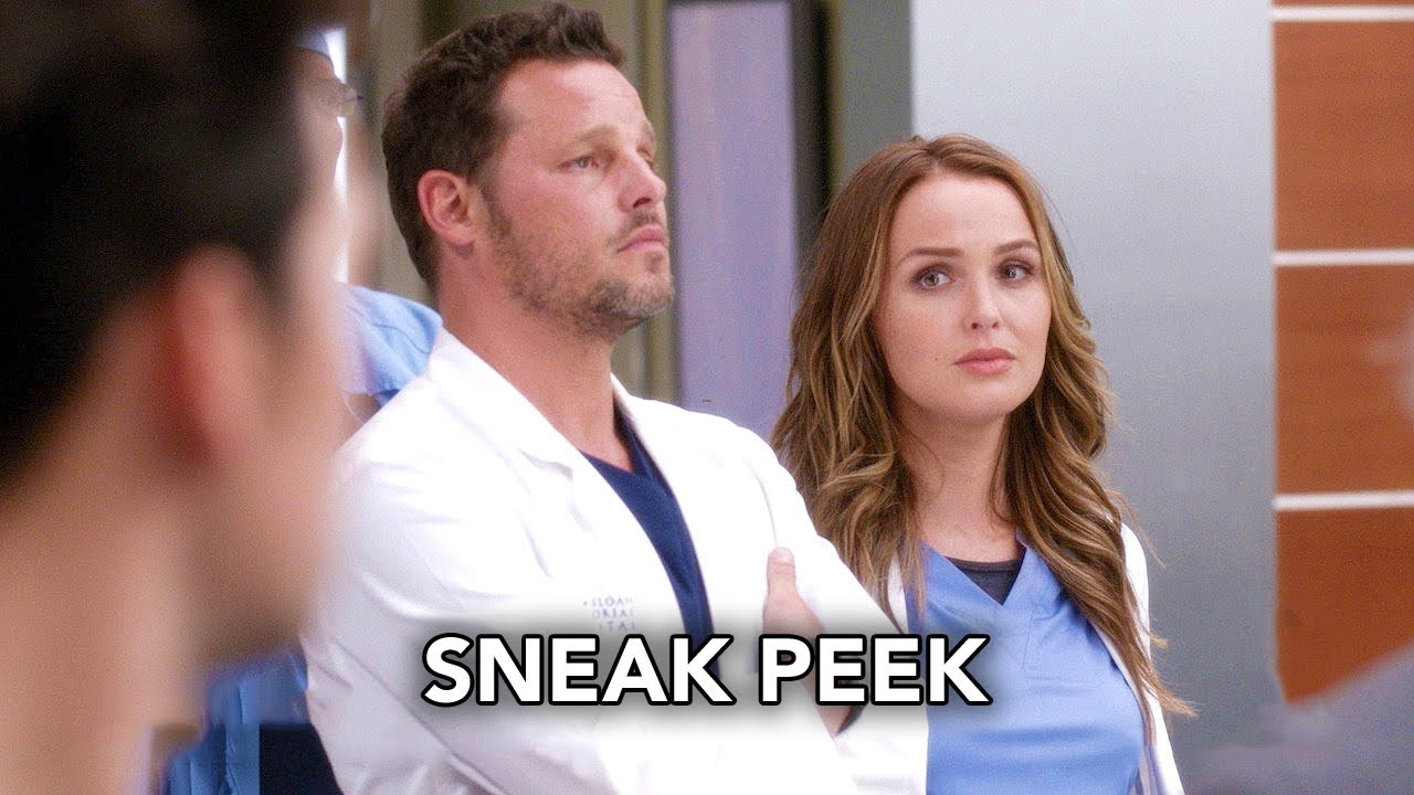 Grey\'s Anatomy 14x01 Sneak Peek \