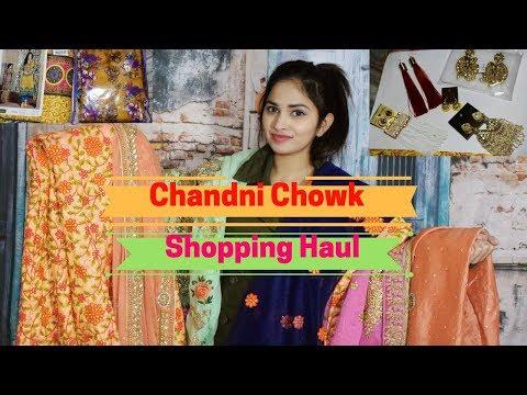 Chandni Chowk Haul   Lehnga Suits Bangles Jewellery    NehaLovesFashion