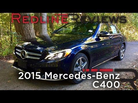 2015 Mercedes Benz C400 Redline Review