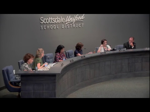 Scottsdale Unified School District Governing Board Meeting 5-15-18