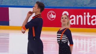 К Ахантьева В Колесов Короткая программа Кубок России по фигурному катанию 2020 21 Пятый этап