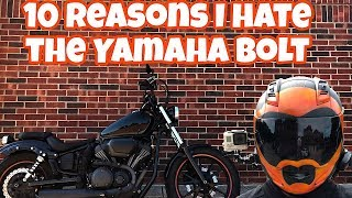 10 Things I Hate About The Yamaha Bolt
