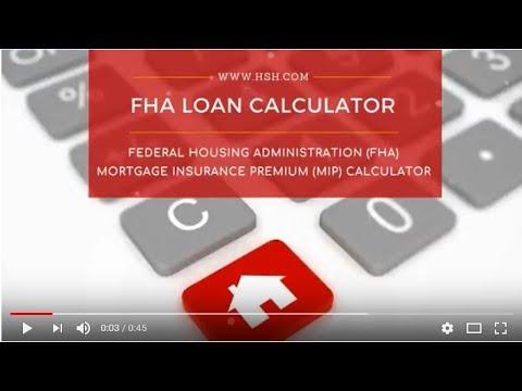 FHA Mortgage Calculator