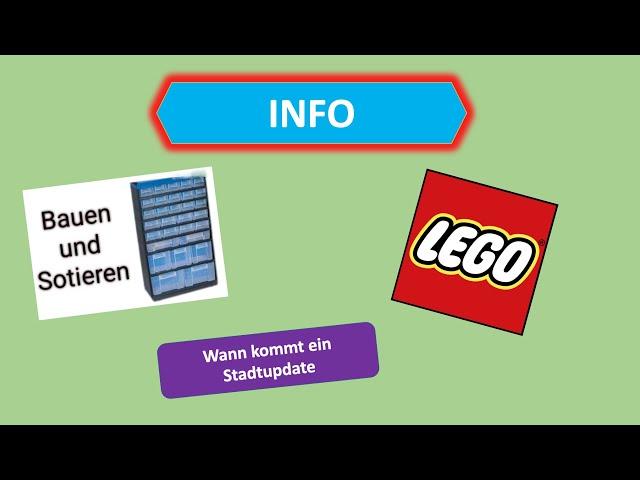 Info zu Livestream + Stadtupdate + Minifiguren öffnen
