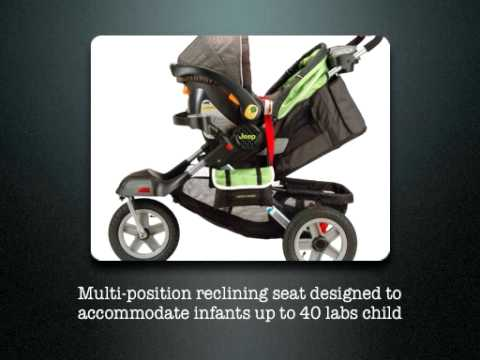 jeep liberty limited urban terrain stroller youtube