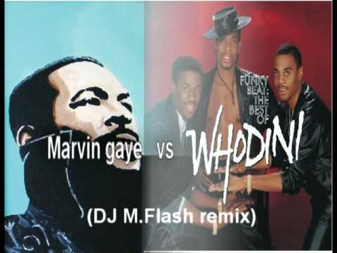 Marvin Gaye vs Whodini beat - sexual healing DJ M Flash remix