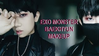 Video EXO Baekhyun | Monster Makeup Tutorial download MP3, 3GP, MP4, WEBM, AVI, FLV Juni 2018