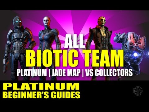All Adept Team vs Collectors on Platinum: Jade Map: Mass Effect 3 Multiplayer