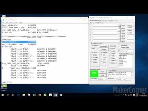 ESP8266 WiFi Module Firmware Update