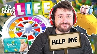 Let's See How Life Treats Me THIS TIME. | The Game of Life Online w/ The Derp Crew