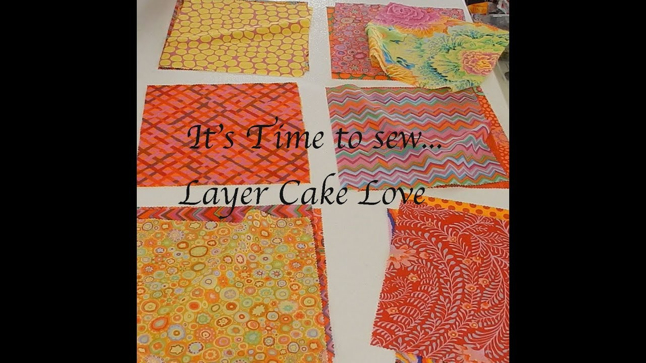 Quick Quilt - Layer Cake Love (You'll never make another Jelly Roll Quilt  again!)