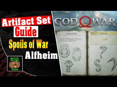 God of War - All Artifact Locations for Alfheim - Spoils of War Artifact Set