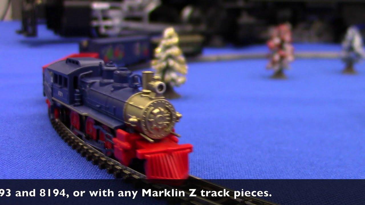 Marklin 2020 Ho Christmas Engine Marklin Z Scale Christmas Train Set   YouTube
