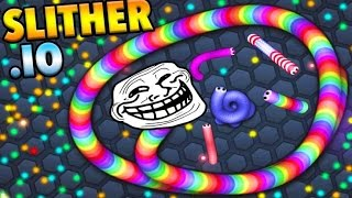 Slitherio biggest snake and best skins hacks