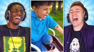 Download REACTING TO THE INTERNET'S FUNNIEST VIDEOS Mp3 and Videos