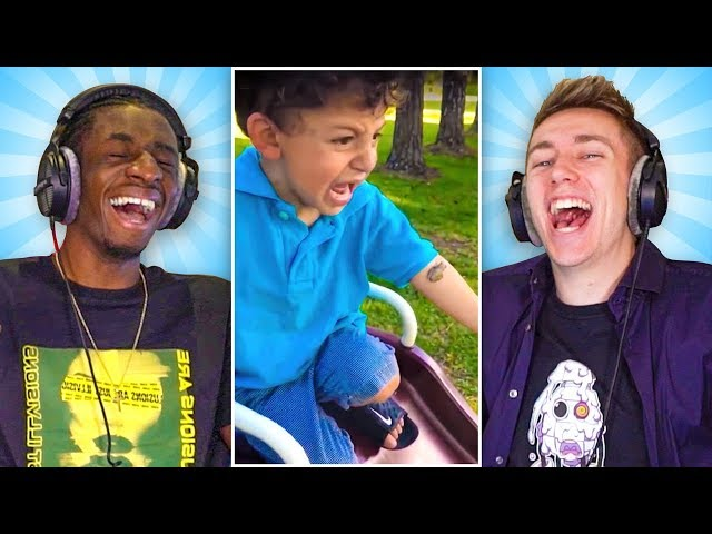 REACTING TO THE INTERNET'S FUNNIEST VIDEOS