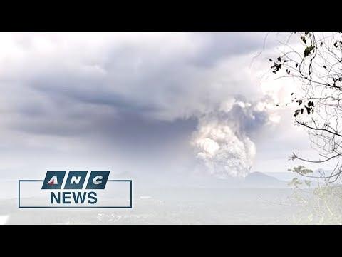 Alert level 4 raised as Taal Volcano erupts