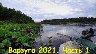РЫБАЛКА БЕЛОЕ МОРЕ ВАРЗУГА 2021 ГОРБУША ПОШЛА Ч1 FISHING THE WHITE SEA VARZUGA 2021