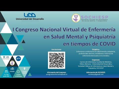 I Congreso Nacional Virtual de Enfermería en Salud Mental y Psiquiatría en tiempos de COVID