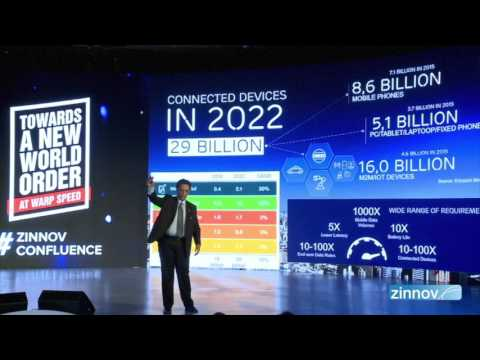 Shifting Gears into the IoT World | Manoj Dawane | Zinnov Confluence '17, Bangalore