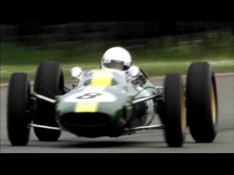 Heikki Kovalainen drives iconic Classic Team Lotus cars.