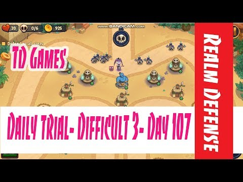 Realm Defense- Daily Trial ➤ Difficult 3- Day 107