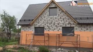 Утепление фасада пенопластом частного дома. AKV-STROY.NET(, 2016-05-20T09:31:50.000Z)