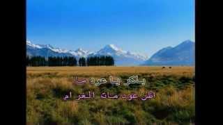 Lebanese/Arabic Karaoke Tabki L Touyour - Wael Kfoury تبكي الطيور - وائل كفوري